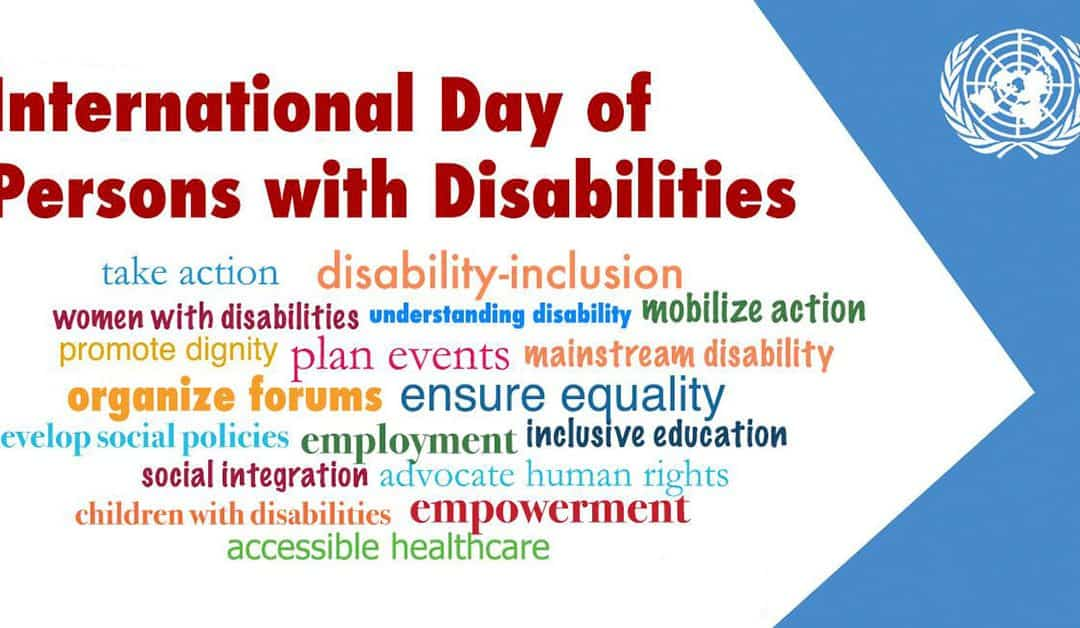 International Day Of Persons With A Disability